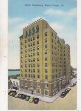 Hotel Heidelberg Baton Rouge La USA 1955 Postcard US057