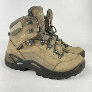Lowa Renegade GTX Mid Gore-Tex Leather Hiking Boots Women's US Size 7 Vibram