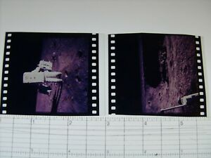NASA APOLLO MISSION 1st GENERATION FROM MASTER 70mm NEGATIVE LOT OF TWO