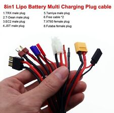 8in1 multi-fuction lipo battery charging cable for IMAX B6 Balance Charger