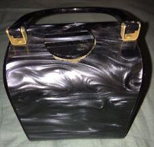 Vintage Saddle River Plastic Box Purse