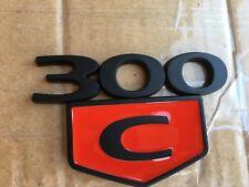 1x Black OEM 300C Trunk Emblem 3D Badges decal L for Dodge Chrysler 300 C HEMI