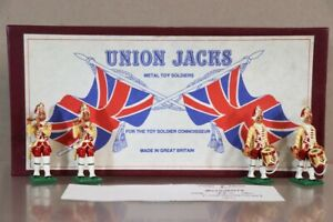 UNION JACKS FIFES & DRUMS GRENADIERS 48th FOOT NORTHAMPTONSHIRE 1751 nv