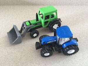 Siku Super Serie 0843 Deutz DX85 & New Holland 7070 Tractors