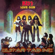 Kiss Guitar Tab LOVE GUN Lessons on Disc