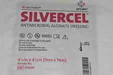 "1 Silvercel Antimicrobial Wound Dressing 800404 4 1/4"" x 4 1/4 Silver AHFI"
