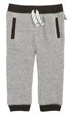 Splendid Baby Boy Waffle Knit Jogger Pants, Marled Grey- Size ( 3-6 M) .