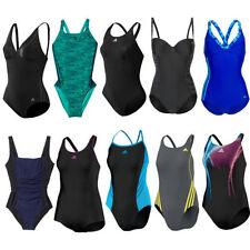 Abbigliamento nero adidas per il mare e la piscina da donna