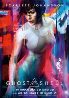 GHOST IN THE SHELL - Orig.Kino-Plakat A1 - Scarlett Johansson - Haupt- Gerollt