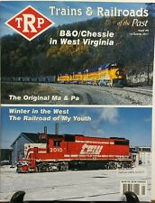 Trains & Railroads of the Past Issue 9 2017 B&O West Virginia FREE SHIPPING sb
