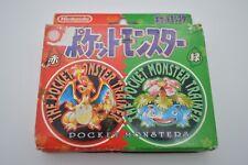 Pokemon Playing Poker Cards Deck Red Green Charizard Venusaur 1996 Nintendo