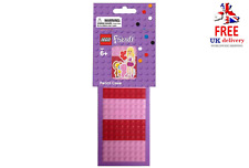Lego Friends Purple and Pink Pencil Case With Stickers