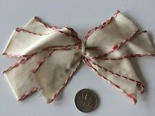 Vintage Dolls Bow Ribbon Shabby Salvage Trim Trims Hats Hair Prim Flowers