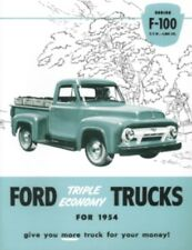 FORD 1954 Pickup Truck Sales Brochure 54