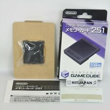 Game Cube Nintendo Official Memory Card 251 DOL-008 Boxed 2816 GC