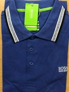 Hugo Boss Polo Short Sleeve ( Colour: Blue. Size: Large) Brand New