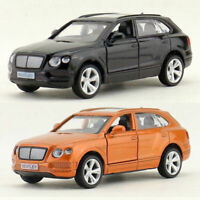 1:45 Bentley Bentayga Off-road SUV Model Car Alloy Diecast Gift Toy Vehicle Kids