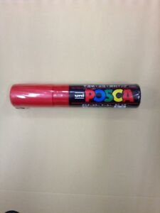 Uni Posca Red Color Bold point Paint Marker Pen from Japan