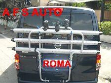 PORTABICI POSTERIORE 3 BINARI X NISSAN FURGONE NV200 2010 X 3 BICI MADE IN ITALY
