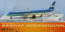 Aviation200 Braniff International DC-8 1:200 Diecast Plane Model AV2DC80611C