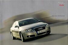 Audi A6 Saloon 2004 UK Market Sales Brochure Portfolio 2.4 3.2 4.2 3.0 TDi