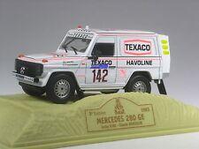 sehr schön: Norev Mercedes 280 GE Rally Paris Dakar 1983 Jacky Ickx in OVP