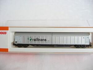 """W118/24* Arnold 4839 Schiebewandwagen """"railtrans n.v."""" AAE OVP TOP"""