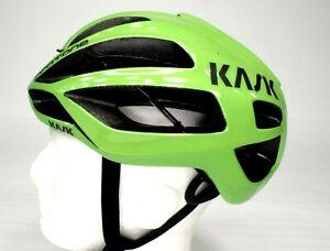Kask Protone Bicycle Helmet, Adult Medium, 52-58cm, Lime Green