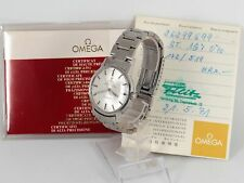 Omega Seamaster Automatik Cal 551 Stahl Ref 165.070 Chronometer Papiere 1971