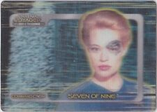 STAR TREK VOYAGER CLOSER TO HOME COMMAND CREW INSERT CC7 SEVEN  OF NINE 608/750