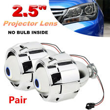 LHD 2.5'' Car Mini HID Bi-xenon Projector Clear Lens High/Low Headlight Shroud