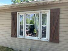 Outdoor Rustic Wood Shutter / Interior Shutters Home Decor / Farmhouse Shutters