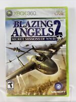 Blazing Angels 2: Secret Missions of WWII (Microsoft Xbox 360, 2007) NEW SEALED