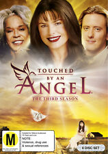 TOUCHED BY AN ANGEL - THE THIRD SEASON [NTSC REGION 0] (8DVD) NOT SEALED
