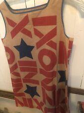 VINTAGE POP ART RICHARD NIXON PRESIDENTIAL CAMPAIGN PAPER DRESS 1968