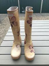 Ladies Hunter Wellington Boots, Size 5 Royal Horticulture Society RHS Acorn Oak