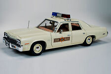 1974 Dodge Monaco ILLINOIS State POLICE Car 1:18 Auto World 1019