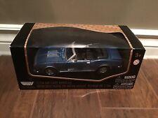 1967 Chevrolet Camaro SS Convertible Blue 1/24 Diecast Car Motor Max 73200F