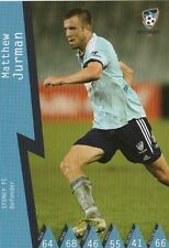 MATT JURMAN SYDNEY FC A-LEAGUE 2014/2015 TAPNPLAY SOCCER CARD