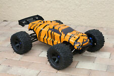 Custom Body Tiger Style for Traxxas E-Revo 2.0 1/10 Truck Car Shell Cover 1:10