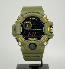 New Casio GW9400-3 G-Shock Rangeman Triple Sensor Solar Digital Men's Watch