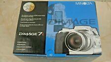 Minolta DiMAGE 7i 5.0MP Digital Camera w/ Manual Data Cable & 16MB CF Card Boxed