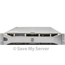 "Dell PowerEdge R710 8-Core 2.5"" Server 32GB RAM PERC6i iDRAC6 + 2 Trays"