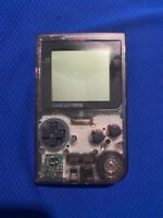Clear Purple GameBoy Pocket tested working