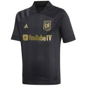 Adidas LAFC home Authentic Jersey 20/21 Black And Gold  Size S