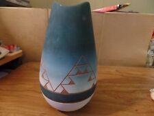 "9 1/2"" Tall Ceramic Southwest Vase #2247"