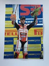Michel Fabrizio Unsigned Xerox Ducati Poster Rare 1.