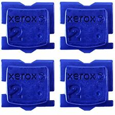 "GENUINE XEROX ColorQube 8570 / 8580 CYAN ""4 PACK"" INK 108R00926"