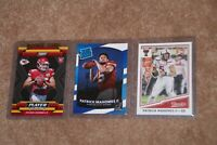 2017 Patrick Mahomes Rookie Card Lot Of 3, Rated Rookie, Classics, Panini Player