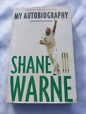 "2002 ""SHANE WARNE - MY AUTOBIOGRAPHY"" PAPERBACK BOOK (W)"